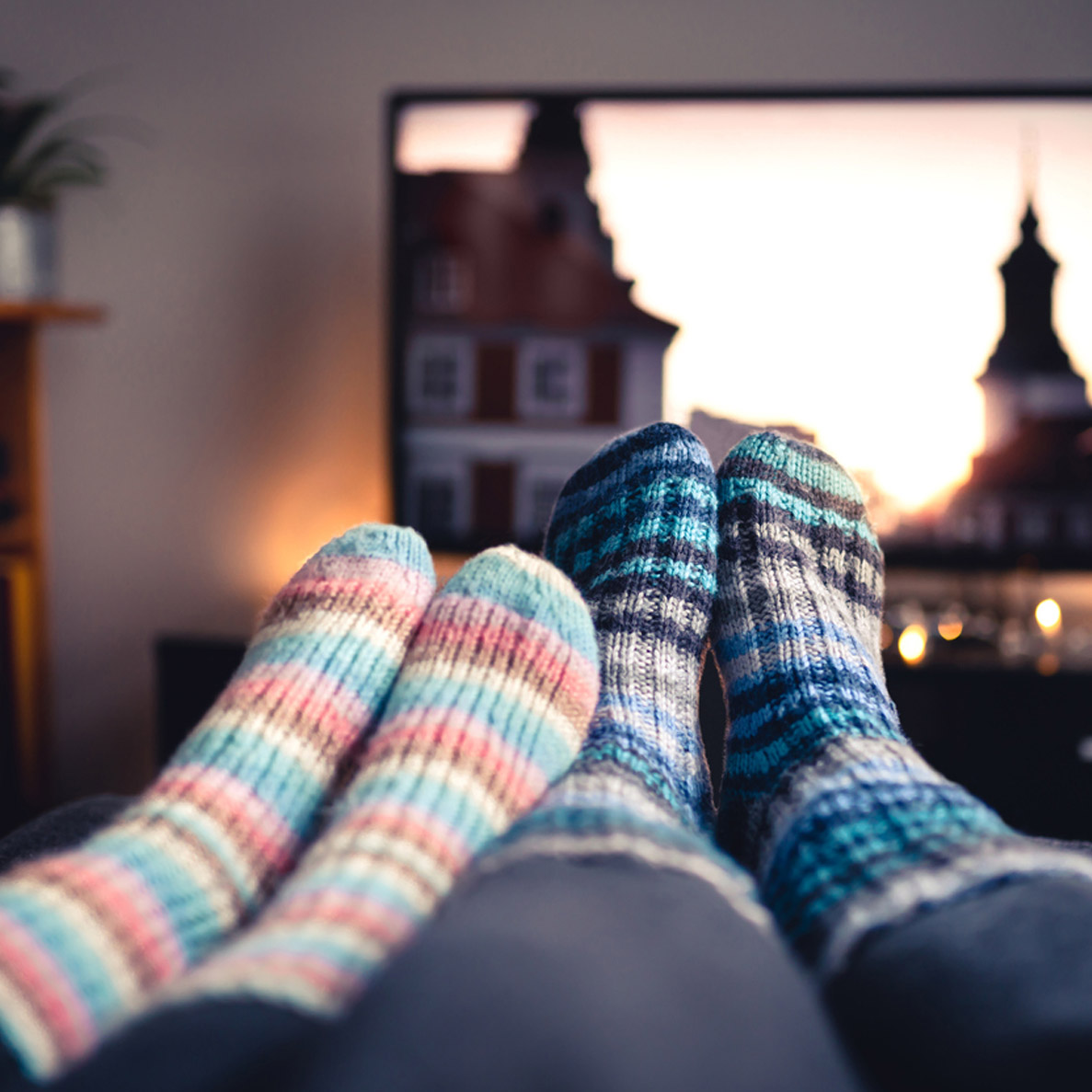 socks-in-front-of-tv